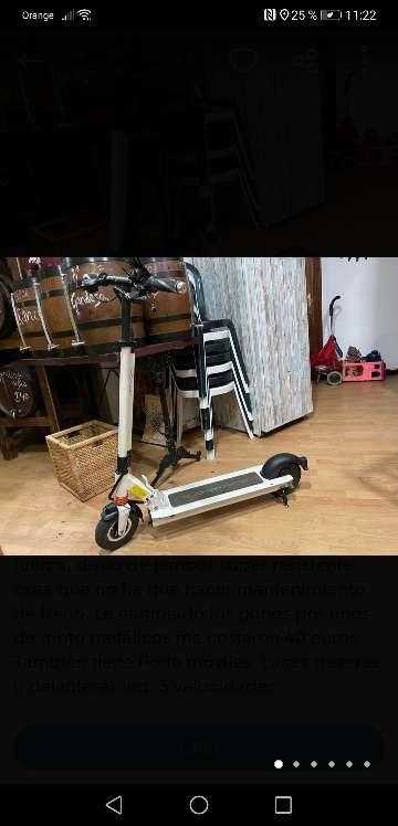 Imagen Vendo patinete eléctrico joyor