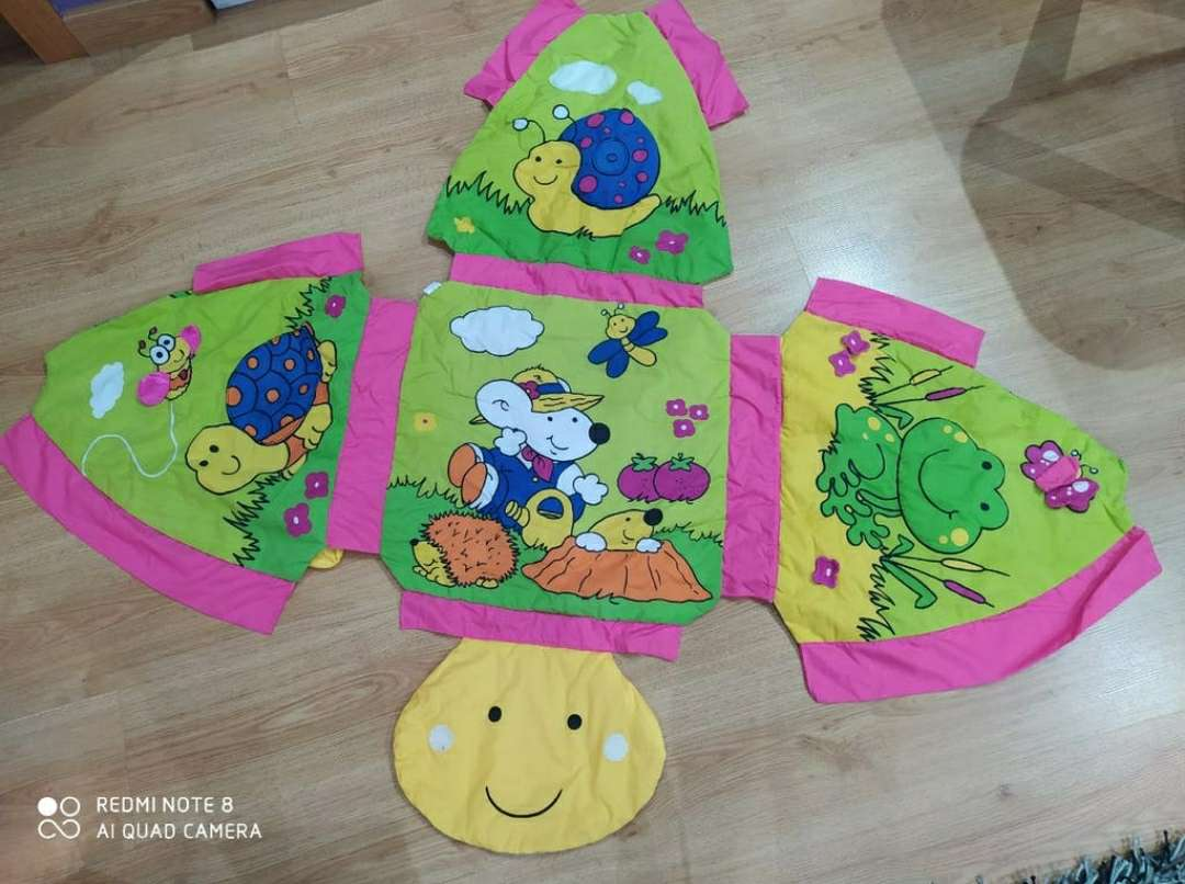 Imagen producto Manta tortuga con gimnasio 3