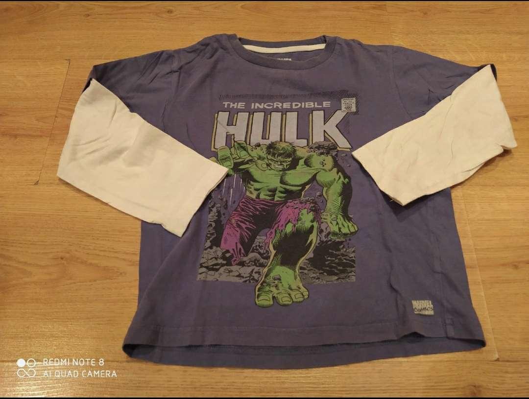 Imagen Camiseta Hulk Marvel 5 años