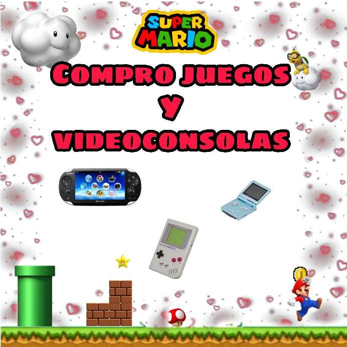 Imagen Adquiero consolas y juegos