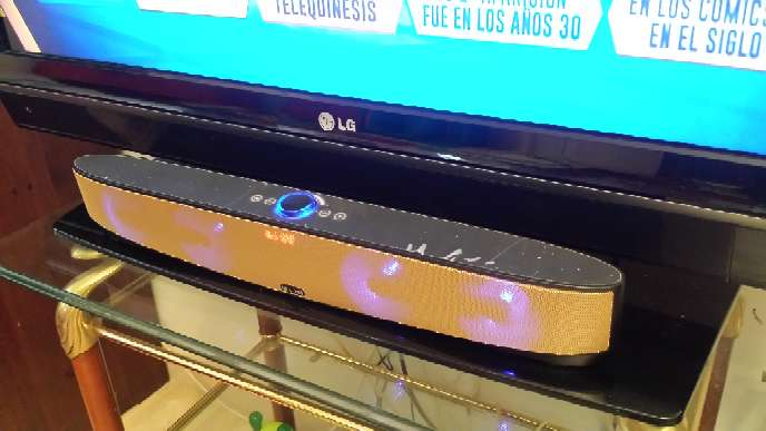 Imagen Altavoz bluetooth 55 cm. de largo barra de sonido TV.