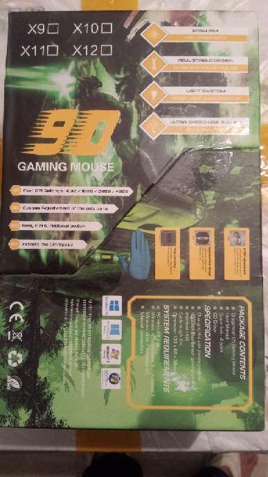 Imagen producto Raton Gaming de aluminio con contrapesos ajustables 2