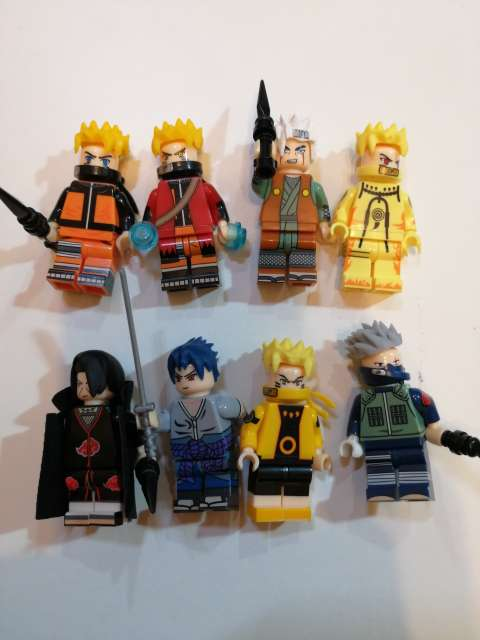 Imagen 8 Figuras Naruto. Nuevas