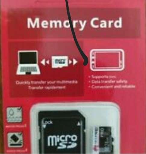 Imagen memoria micro SD 64 gb y 128 gb