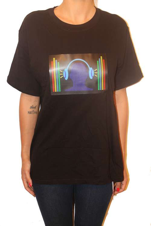 Imagen producto Camisetas iluminadas y musicales 10
