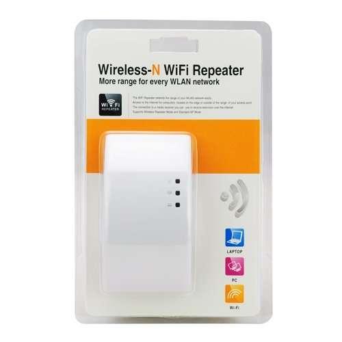 Imagen Repetidor de señal wifi de 300 Mbps.