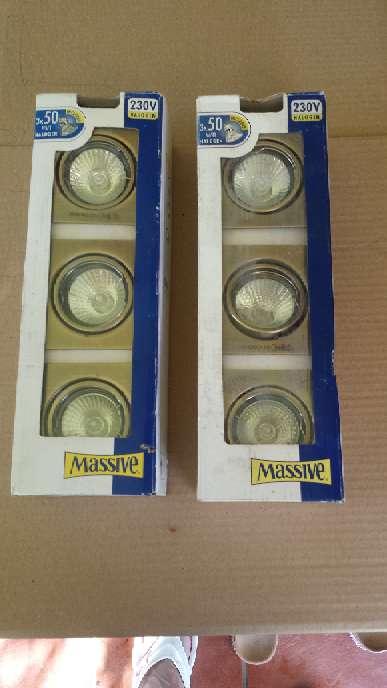 Imagen producto Focos completos con lampara y transformadores para casa o escaparate 1