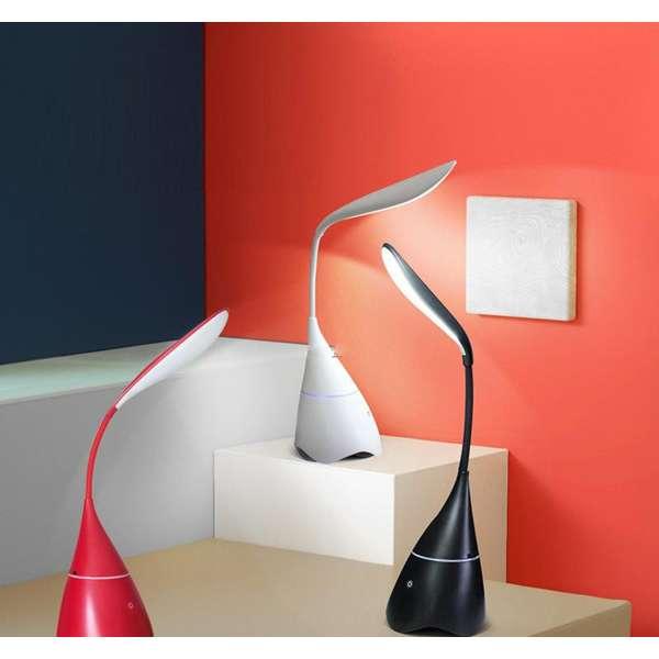 Imagen Altavoz bluetooth lampara de sobremesa