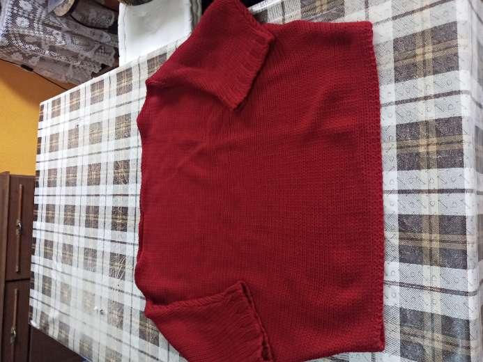Imagen jersey rojo lana