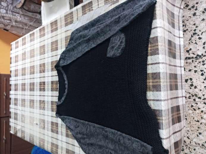 Imagen jersey negro lana