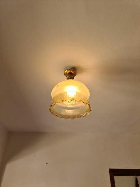 Imagen Lote cuatro lamparas vintage