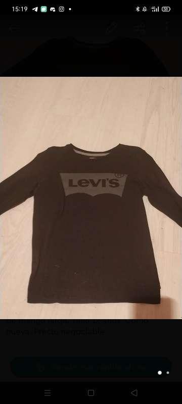 Imagen Camiseta levis manga larga