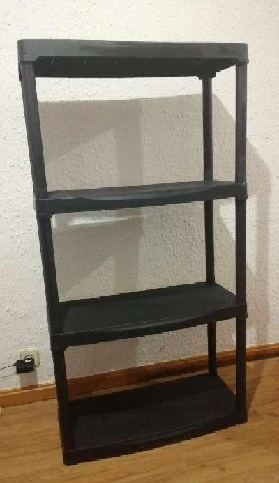 Imagen Mueble estantería negro