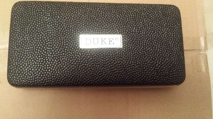 Imagen Pluma estilografica marca DUKE corte oval.