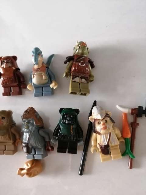 Imagen producto 6 Figuras Ewoks. Star Wars 3
