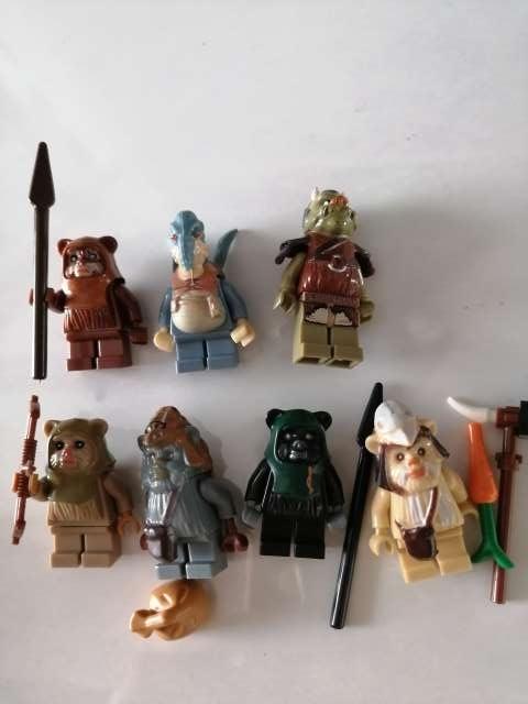 Imagen 6 Figuras Ewoks. Star Wars