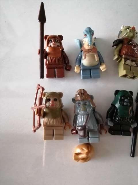 Imagen producto 6 Figuras Ewoks. Star Wars 2