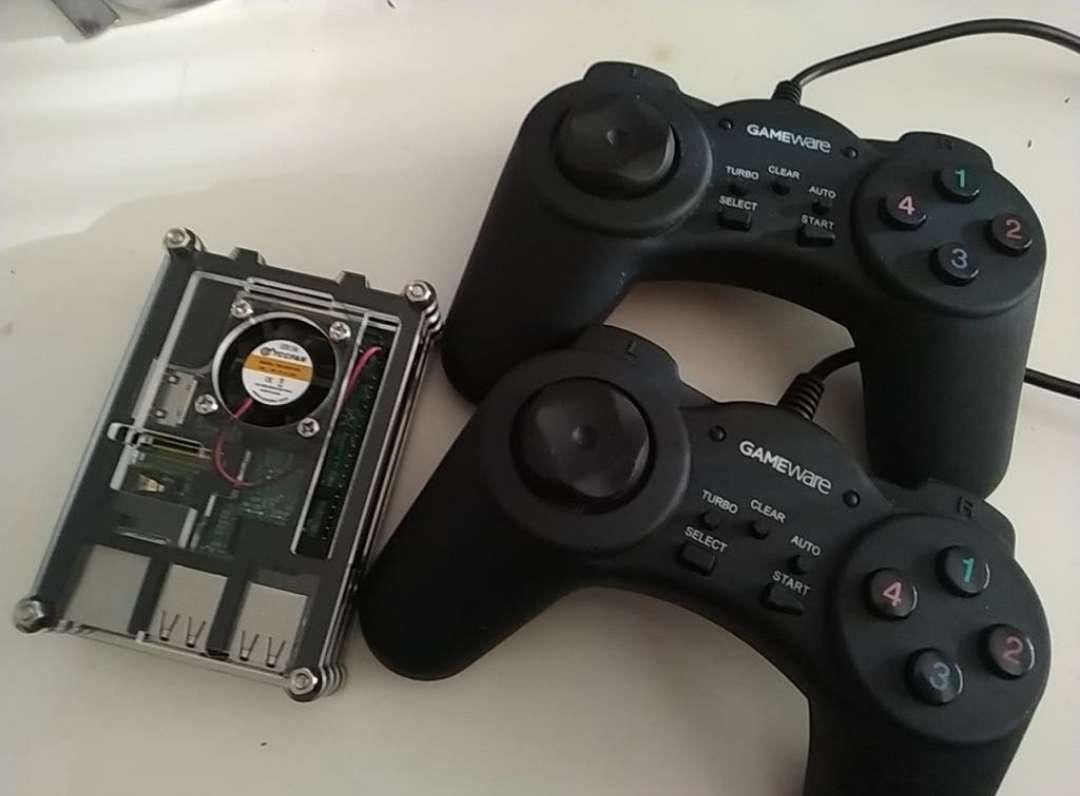 Imagen sistema juegos retro