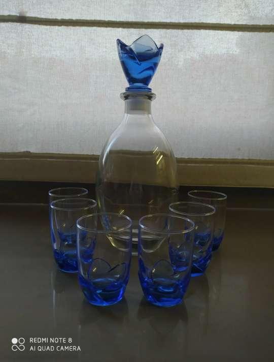 Imagen Juego de chupitos con tono azul