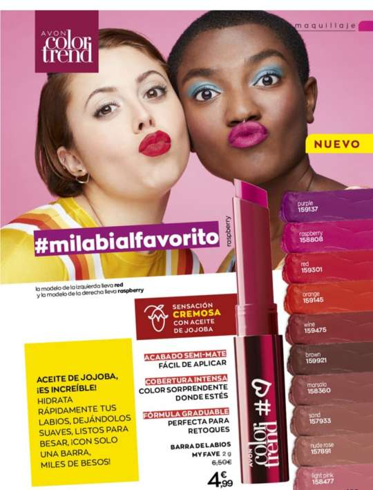 Imagen producto Labiales,  maquillaje y bases  4