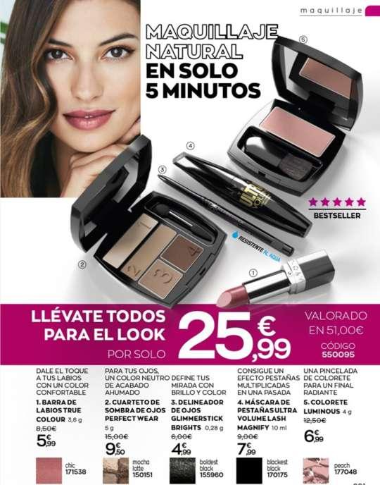 Imagen labiales,  maquillaje y bases