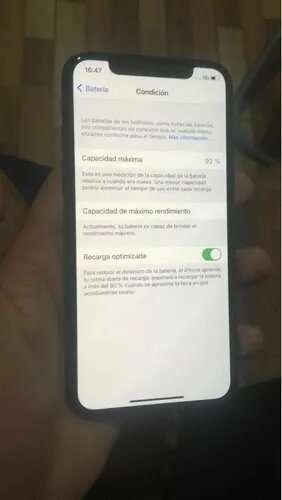 Imagen iPhone X de 256 gb