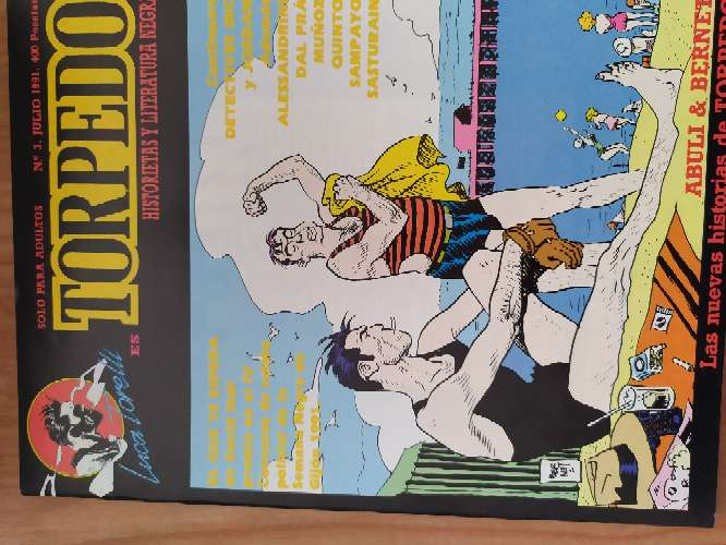 Imagen producto Torpedo, comic colección completa 3