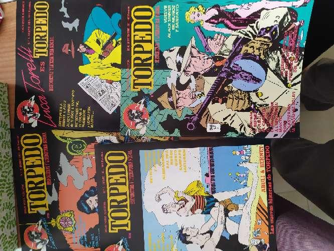 Imagen Torpedo, comic colección completa