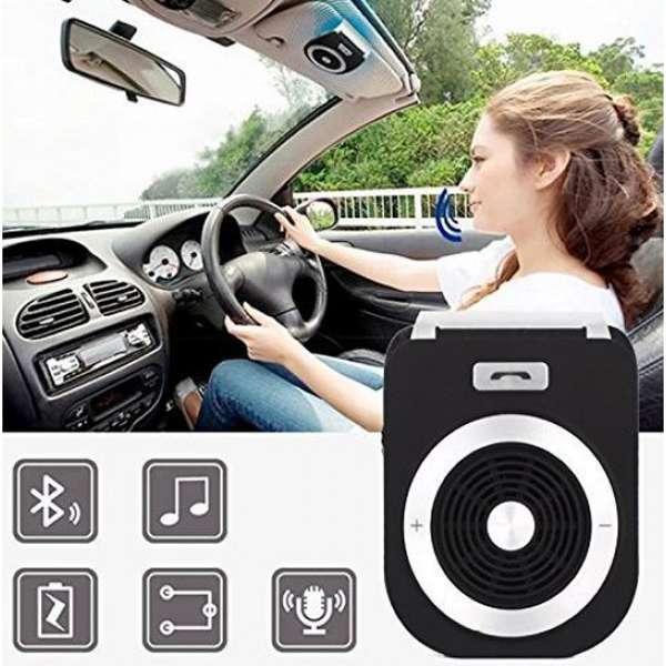 Imagen producto Manos libres bluetooth para llamadas en el coche tiene voz para el GPS 3