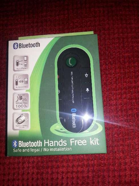 Imagen Manos libres bluetooth para llamadas en el coche para dos telefonos