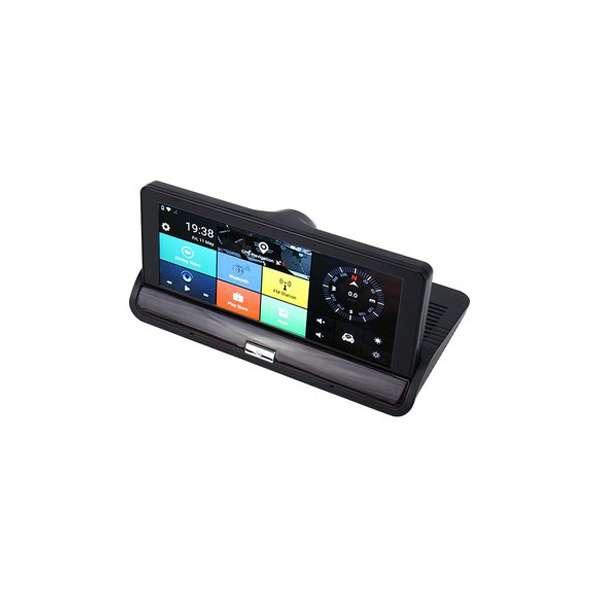 Imagen producto Navegador GPS con internet dos camaras y manos libres para llamadas en el coche 8