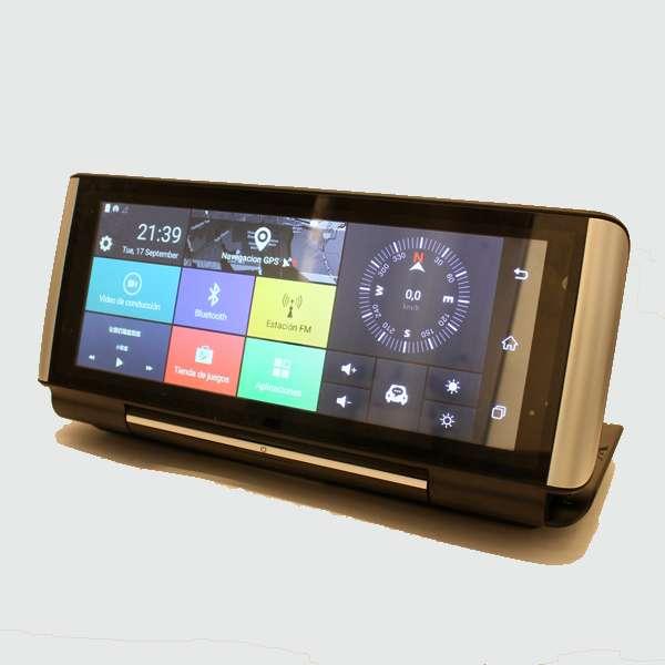 Imagen producto Navegador GPS con internet dos camaras y manos libres para llamadas en el coche 10