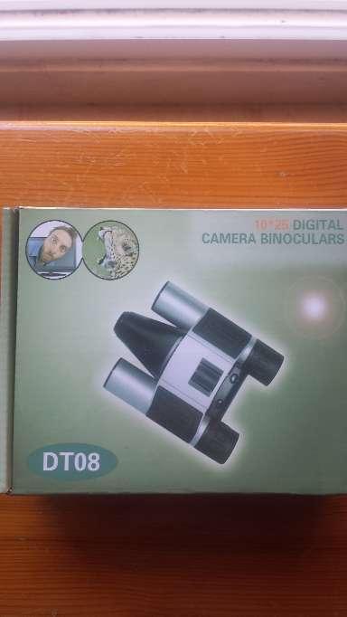 Imagen Prismaticos 10x25 con camara de fotos y video