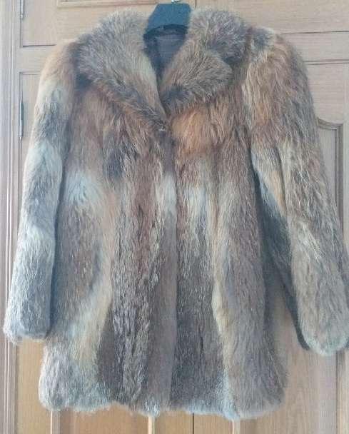 Imagen abrigo piel zorro