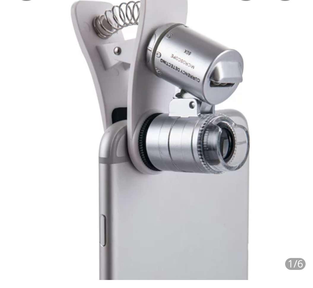 Imagen Microscooio de bolsillo 60x para telefonos