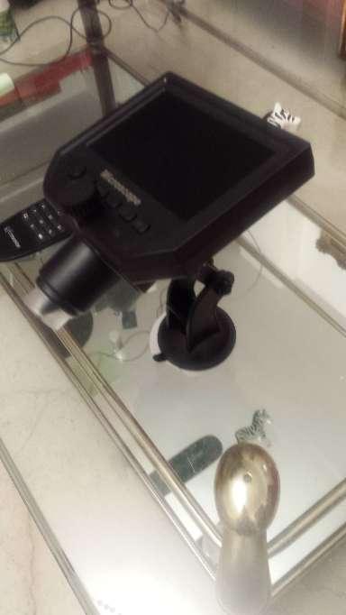 Imagen producto Microscopio con pantalla de 4.3 pulgadas y 600x aumentos 5
