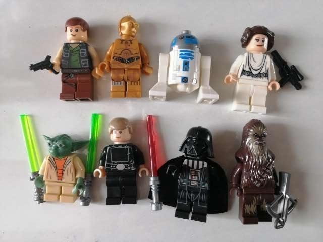 Imagen producto 8 Figuras Star Wars. Nuevas 1