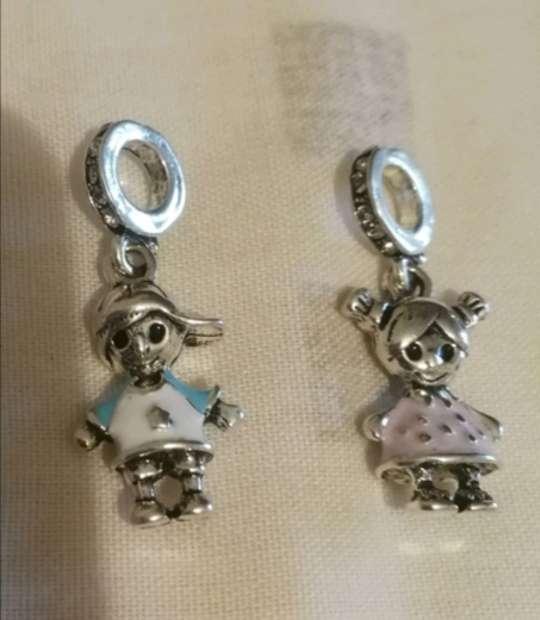 Imagen producto Charms - abalorios Niño Niña para pulsera de Pandora  5