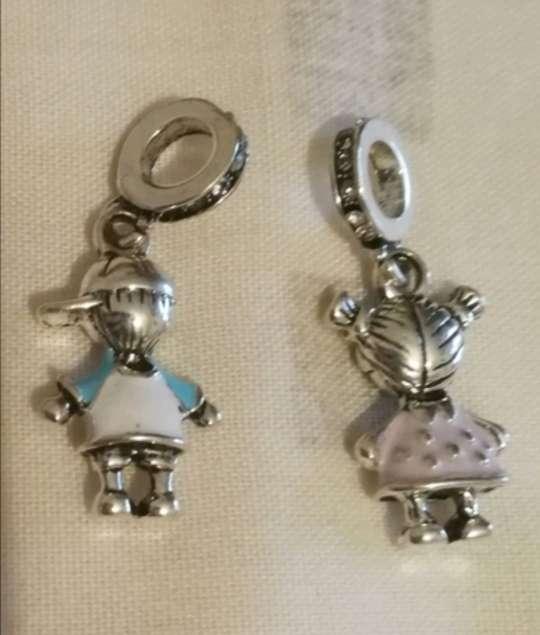 Imagen producto Charms - abalorios Niño Niña para pulsera de Pandora  6