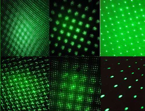 Imagen producto Puntero laser astrologico de 50 miliwatios color verde 4