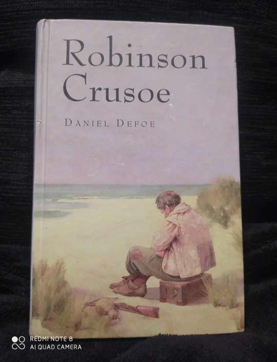 Imagen Robinson Crusoe de Daniel Defoe