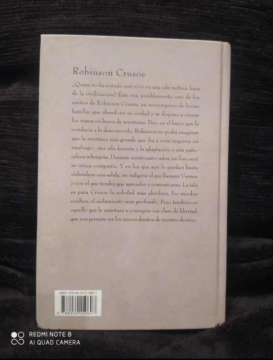 Imagen producto Robinson Crusoe de Daniel Defoe 2
