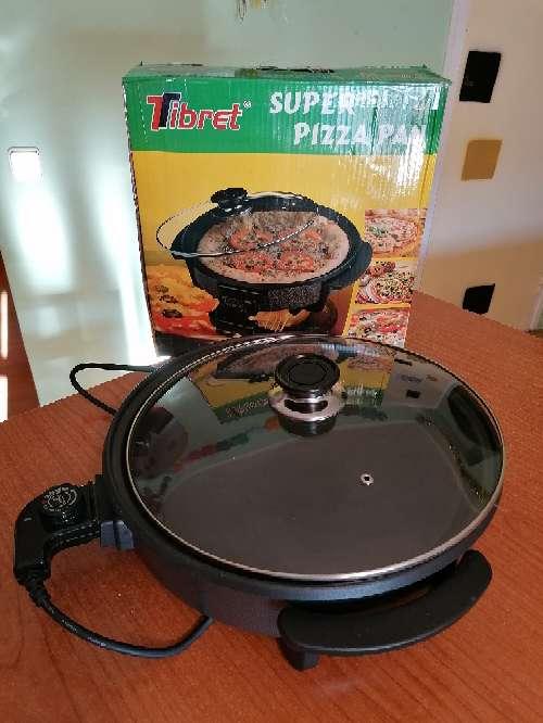 Imagen Pizza Pan - freír, guisar, asar, cocinar paellas, fácil ??