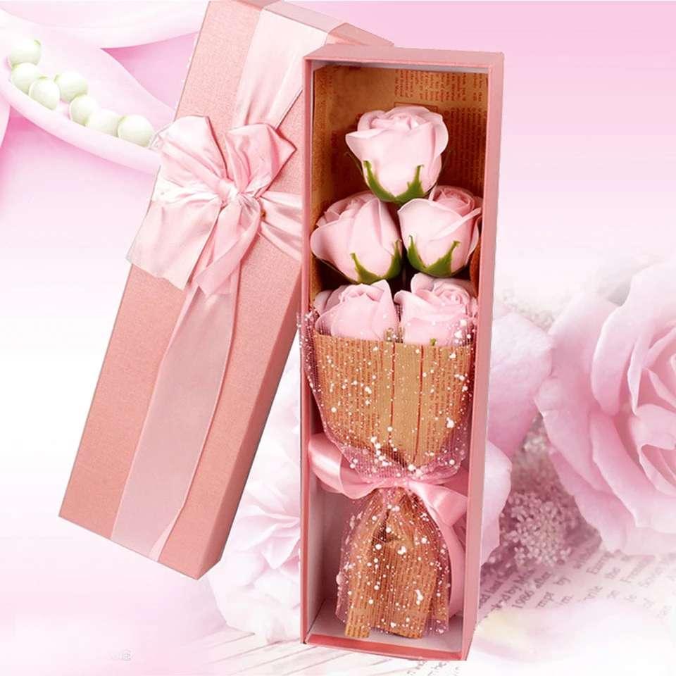 Imagen producto 5Piezas De Jabón Con Forma De Rosa 4