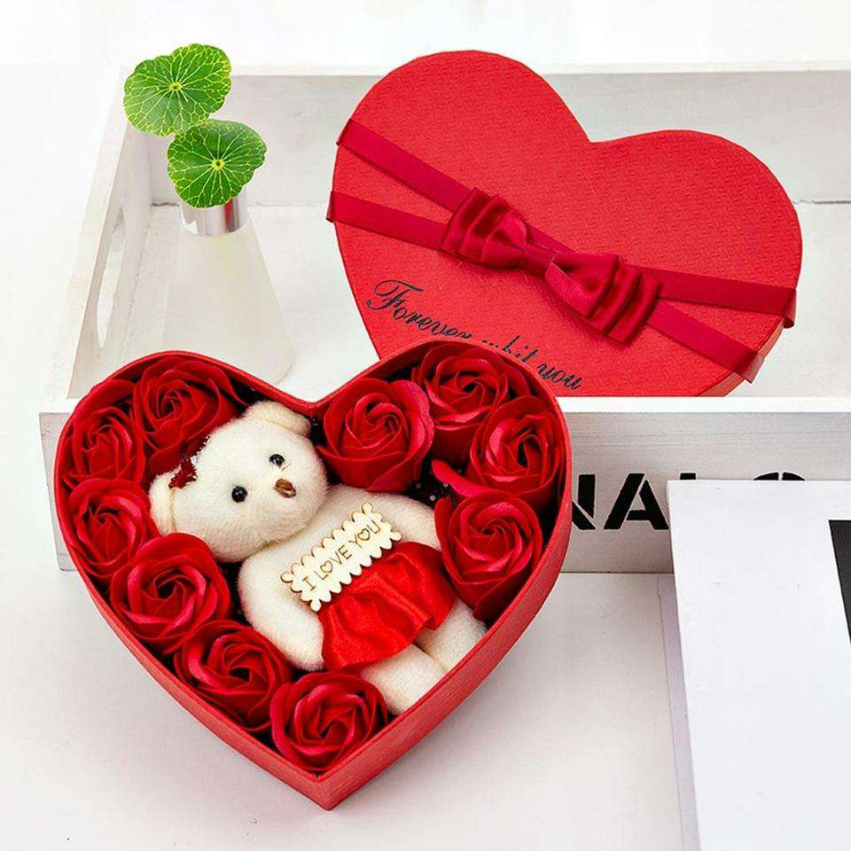Imagen Flores Secas Decorativas Para San Valentín