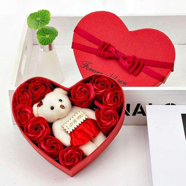 Imagen producto Flores Secas Decorativas Para San Valentín 4