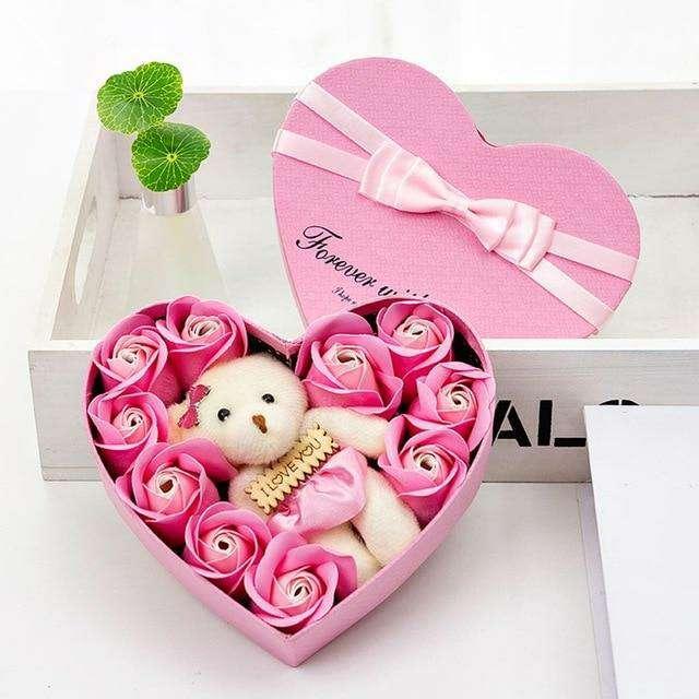 Imagen producto Flores Secas Decorativas Para San Valentín 2