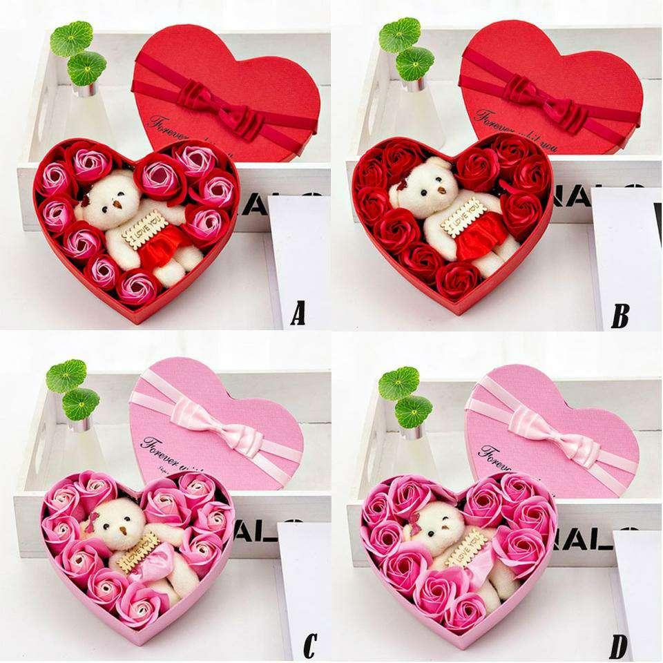 Imagen producto Flores Secas Decorativas Para San Valentín 6
