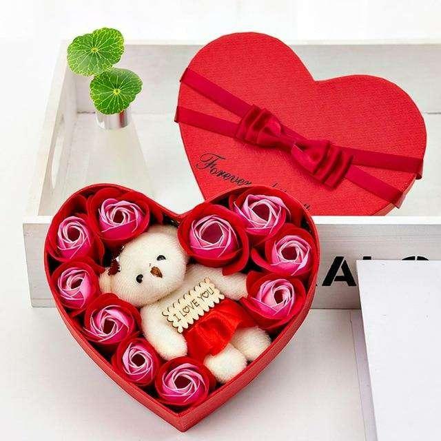 Imagen producto Flores Secas Decorativas Para San Valentín 8