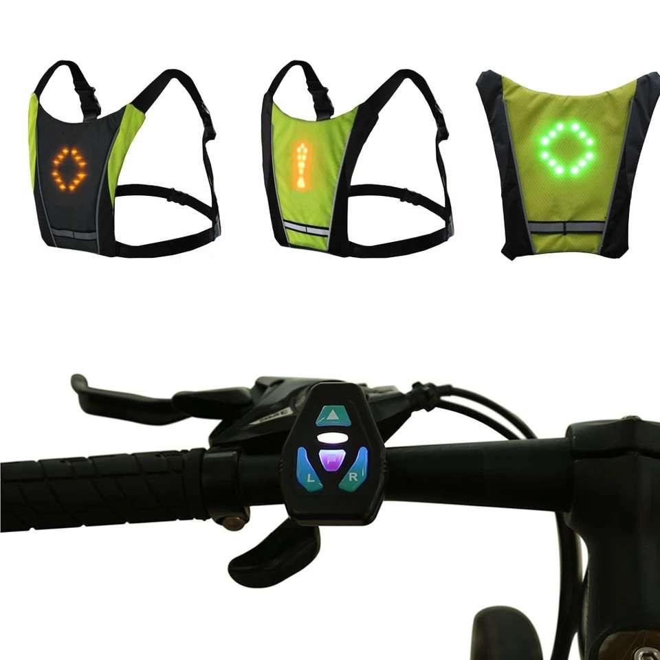 Imagen producto Chaleco De Ciclismo Con Luz Led 5